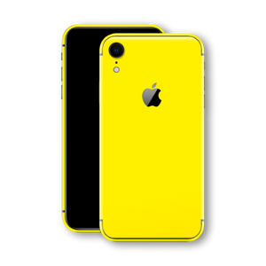iPhone XR Phone Skin Lucid Yellow in Gloss