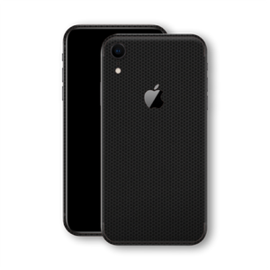 iPhone XR Textured Black Matrix Skin
