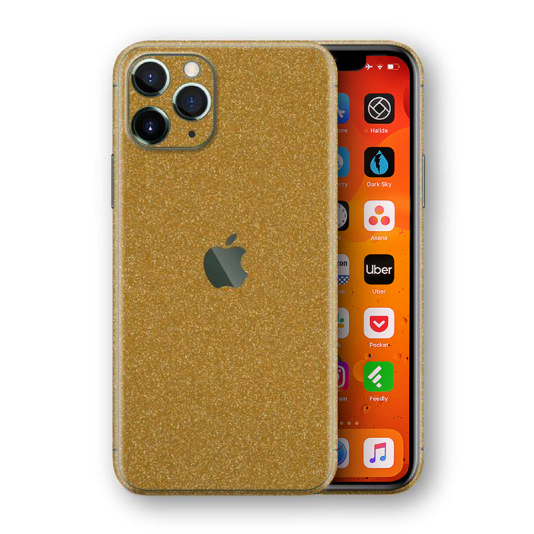 Diamond Gold Skin for iPhone 11 Pro