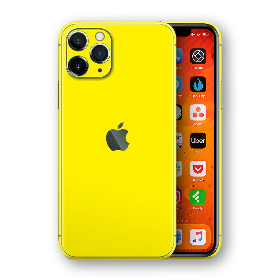 Lucid Yellow Skin for iPhone 11 Pro Max