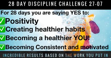 28 Day Discipline Challenge (no gym required) MDF Members challenge