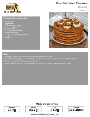 Pancake Cookbook