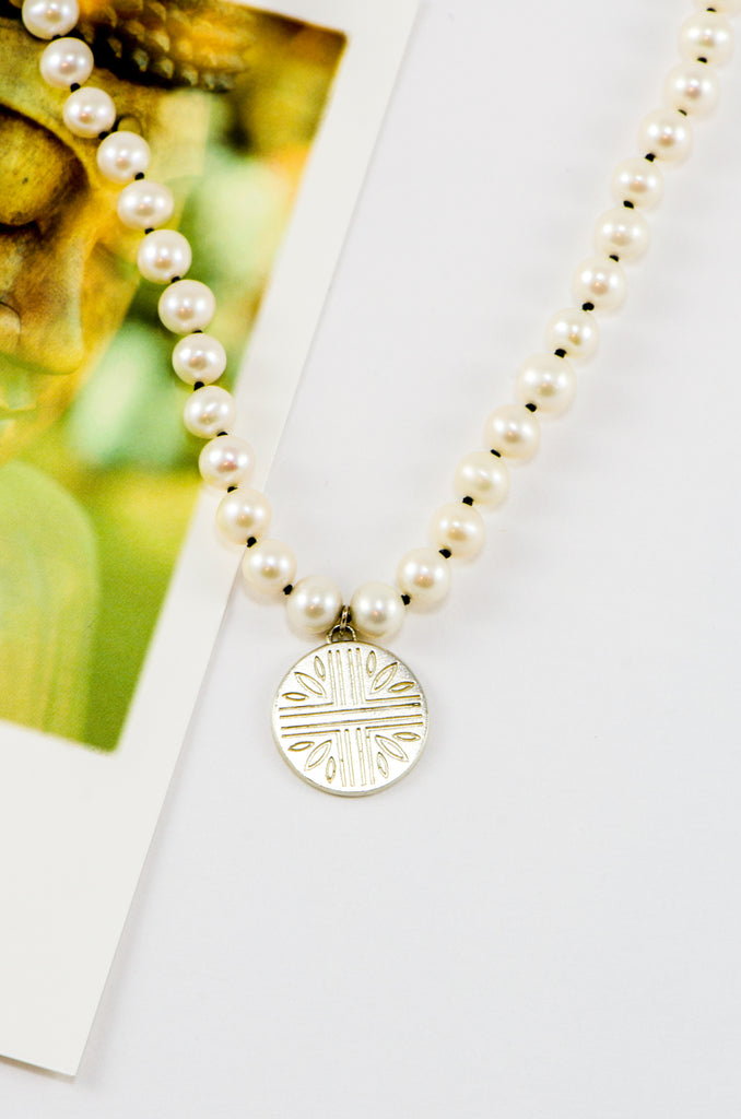 Collier Wheat field argent