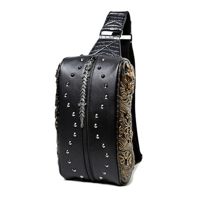 Dragon Embossed - Tagesrucksack Damen
