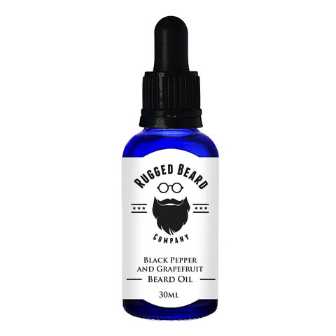 Black Pepper and Grapefruit Beard Conditioning Oil - Aihiki Skin