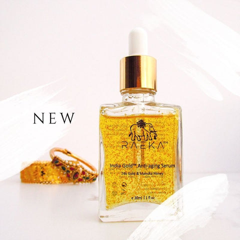 RAEKA India Gold Anti-aging Serum - Aihiki Skin