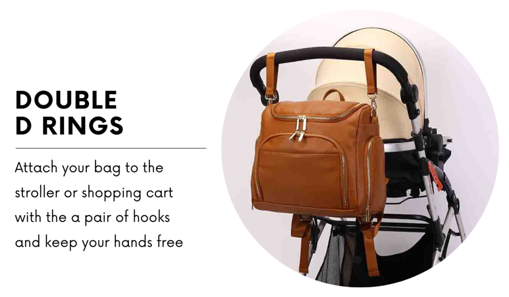 Best Diaper Backpack Bag | Best Leather Diaper Bag | Affordable & Stylish Diaper Bag Backpack | UpperBabies™