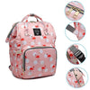 Flamingo | Best Diaper Backpack Bag | Affordable & Stylish Diaper Bag Backpack | UpperBabies™