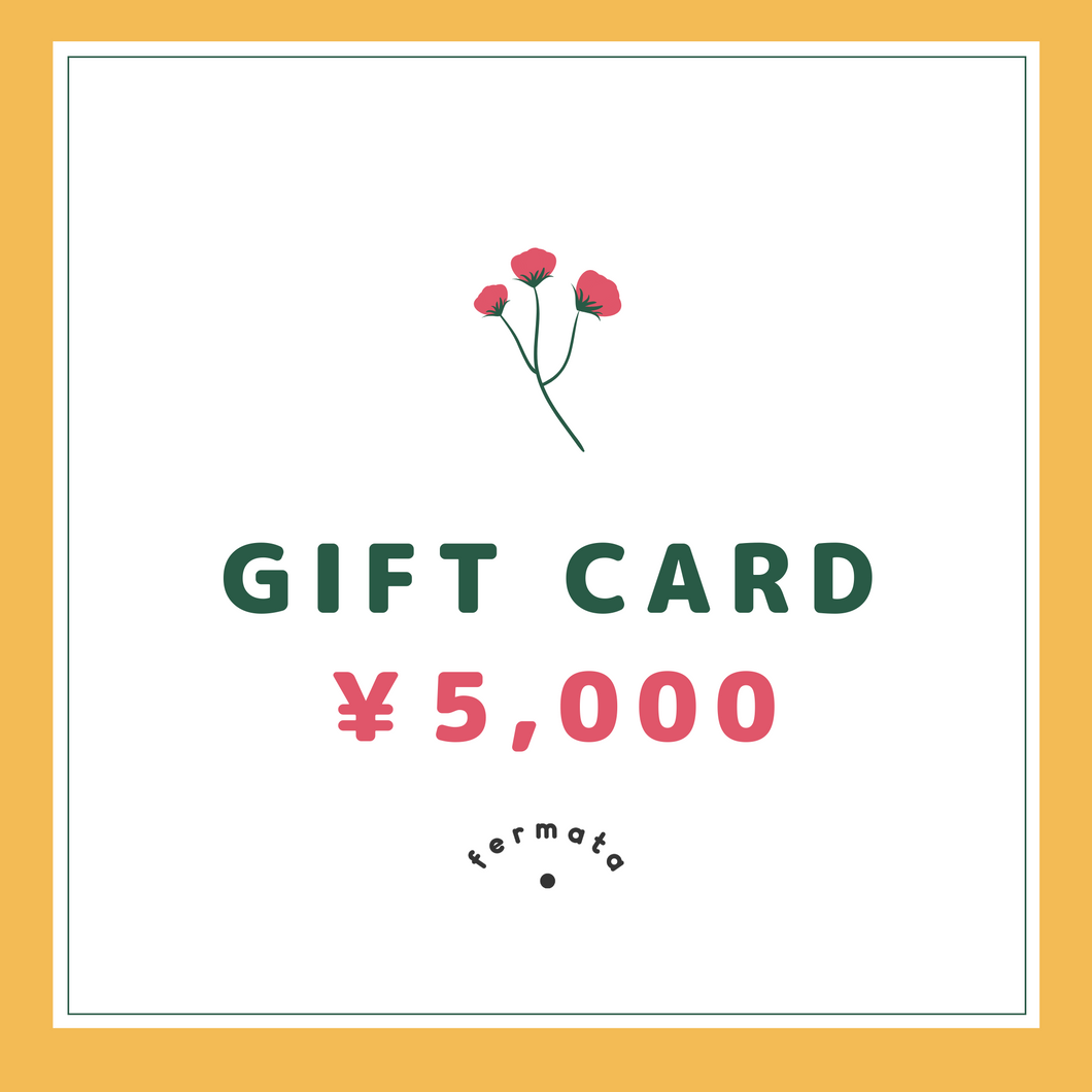 fermata store gift card