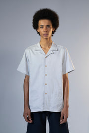 unfeigned short sleeve shirt style 1 peach skin grey