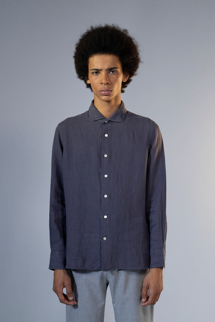 unfeigned long sleeve shirt style 2 linen nine iron