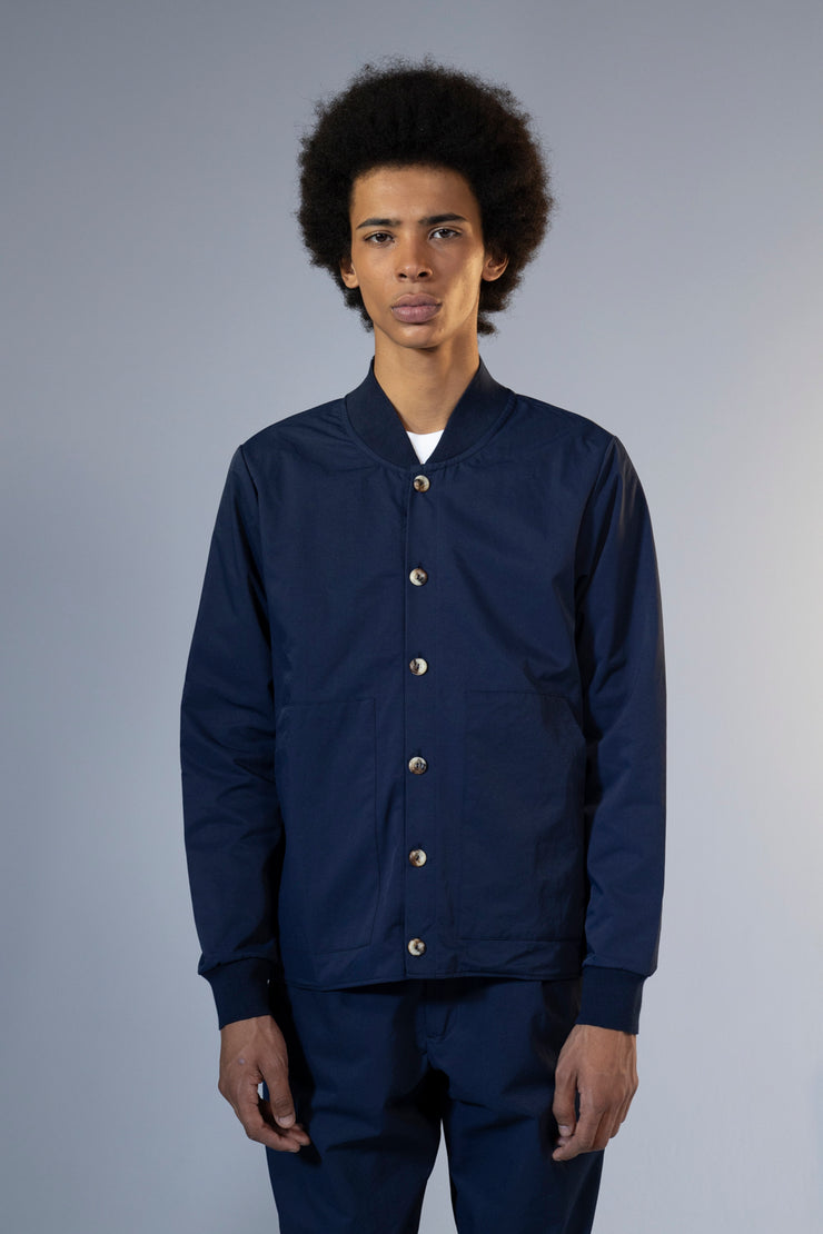unfeigned spring jacket navy