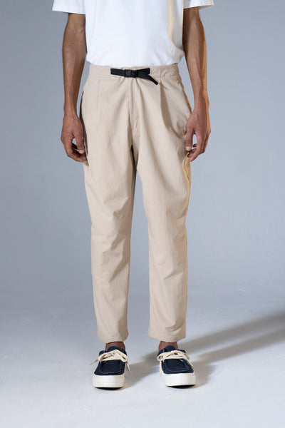 unfeigned technical pants beige