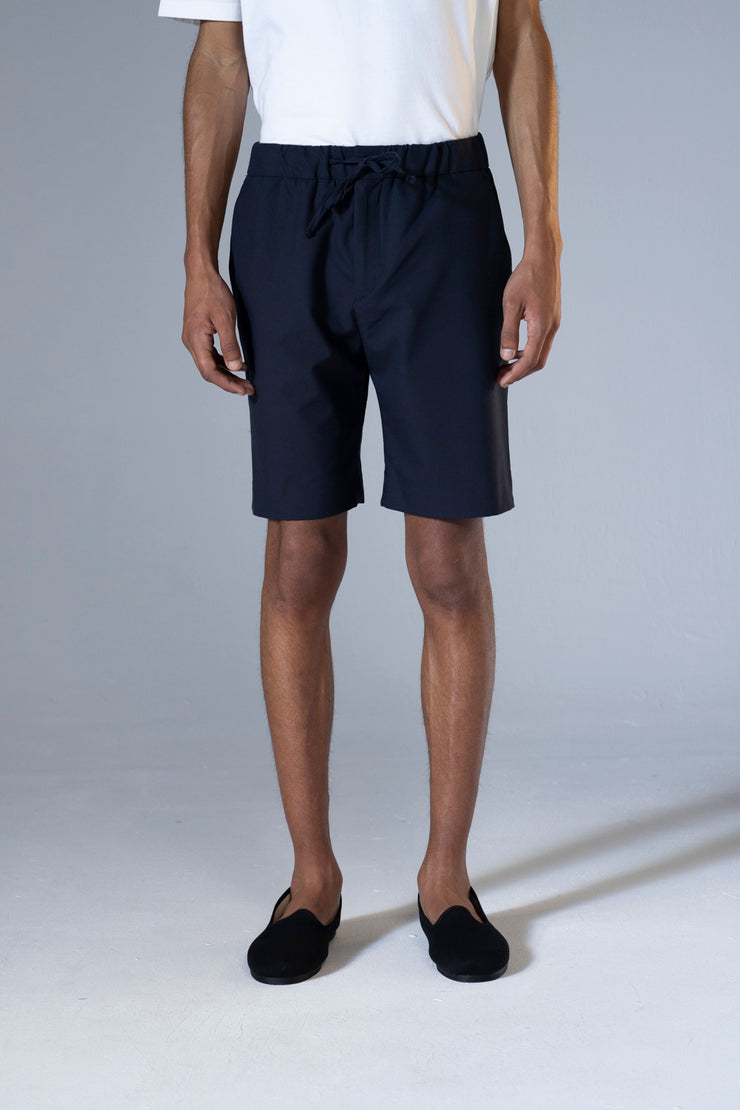 unfeigned tailor shorts navy