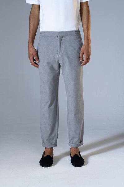 unfeigned tailor pants grey