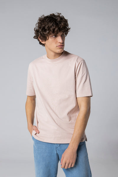 basic t-shirt rose dust