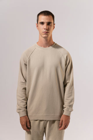 unfeigned basic sweatshirt tidal foam