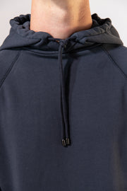 unfeigned hoodie blue graphite