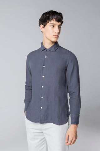 long sleeve shirt style 2 linen nine iron