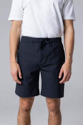 tailor shorts navy