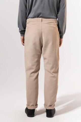 unfeigned wide tapered corduroy pants kaki