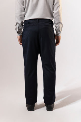 unfeigned wide tapered tailor pants navy