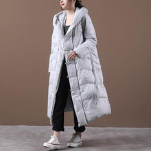 Load image into Gallery viewer, 2020 Winter Warm Female Vintage Loose White Duck Down Coats