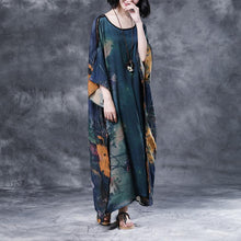 Load image into Gallery viewer, Summer Shoulder Sleeve Printed Long Loose Dress