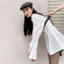 Load image into Gallery viewer, Fashion New Solid Color Shirt Long Sleeve Simplicity Temperament All-match