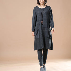 gray sweaters plus size pullover dresses
