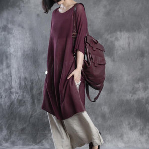 linen dresses half sleeve maxi dress sundresses oversize caftan