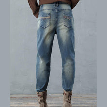 Laden Sie das Bild in den Galerie-Viewer, 2017 loose women jeans causal style loose denim pants plus size