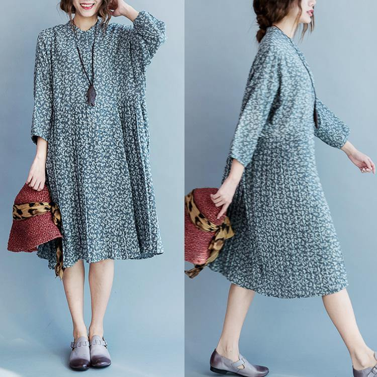 2017 oversized half sleeve cotton dresses casual flowy shift dress loose style