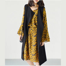 Laden Sie das Bild in den Galerie-Viewer, 2017 spring casual vest cotton coats long sleeveless outwear oversize jackets
