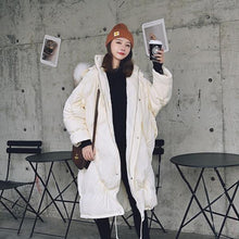 Load image into Gallery viewer, 2020 New Fashion Loose Cotton Fur Collar Thick Coat