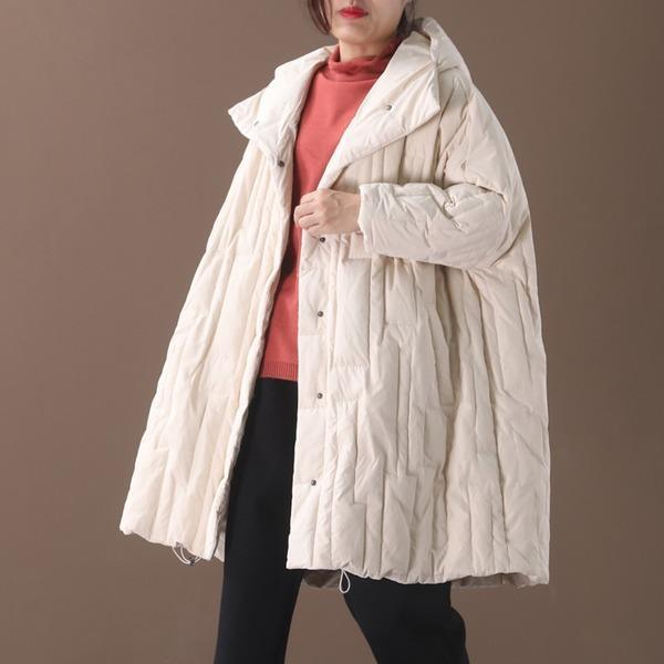 Hooded Down Coats 2020 Winter New Pockets Korean Style Female Down Coats