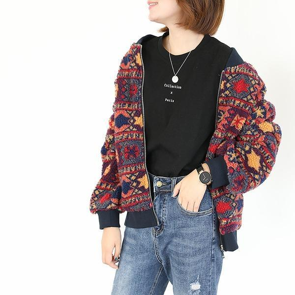 O-Neck Single Baseball Uniform Women Jackets 2020 Autumn Long Sleeve Female Tops Coat