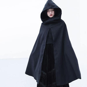 2020 Winter Casual Fashion New Style Temperament All Match Hooded Collar Women Clothes