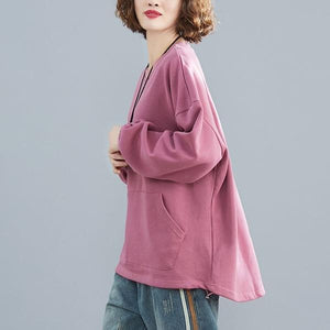 Women Autumn Casual Sweatshirt O-neck Loose Female Pullovers Hoodies
