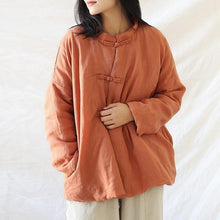 Load image into Gallery viewer, Chinese Style Warm 2020 Winter New Original Vintage Female Parkas