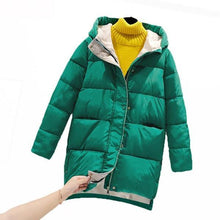 Load image into Gallery viewer, 2020 New Winter Korean Hooded Mid-Length Cotton-Padded Jacket