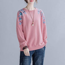Load image into Gallery viewer, 100% Cotton Women Autumn Long Sleeve l Pullovers Hoodies
