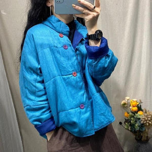 Warm Thick Cotton Parkas Autumn Winter Comfortable All-match Women Jackets