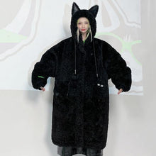 Load image into Gallery viewer, Winter Casual Fashion New Style Temperament All Match Hooded Collar Parka