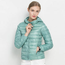 Load image into Gallery viewer, Hooded 90% White Duck Jacket Autumn Winter 12 Colors New WarmDown Coat S-3XL