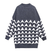 Load image into Gallery viewer, Print Pattern Knitted Pullover Sweater Women 2020 Winter Casual Fashion  Sweater