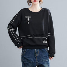 Load image into Gallery viewer, 2020 Korean Simple Style Letter Print Loose Female Casual Hoodies