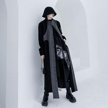 Load image into Gallery viewer, Full Sleeve Patchwork Long 2020 Winter Minority Elegant Coat