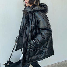 Load image into Gallery viewer, Winter New Loose Hooded Collar Keep Warm Coat Fashion All-match