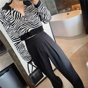 Casual Fashion New Style Temperament All Match Women Clothes